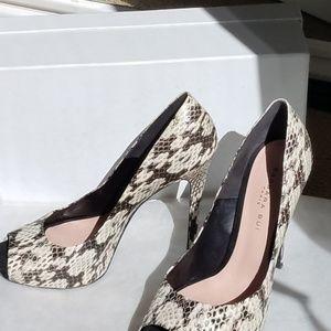 Barbara Bui Paris Snake Skin Python Shoes